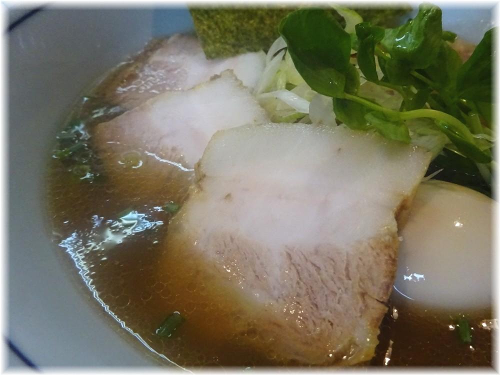 麺家Shumen Doushi 極正油SOBAの具