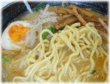 麺屋 高山 味噌らーめんの麺