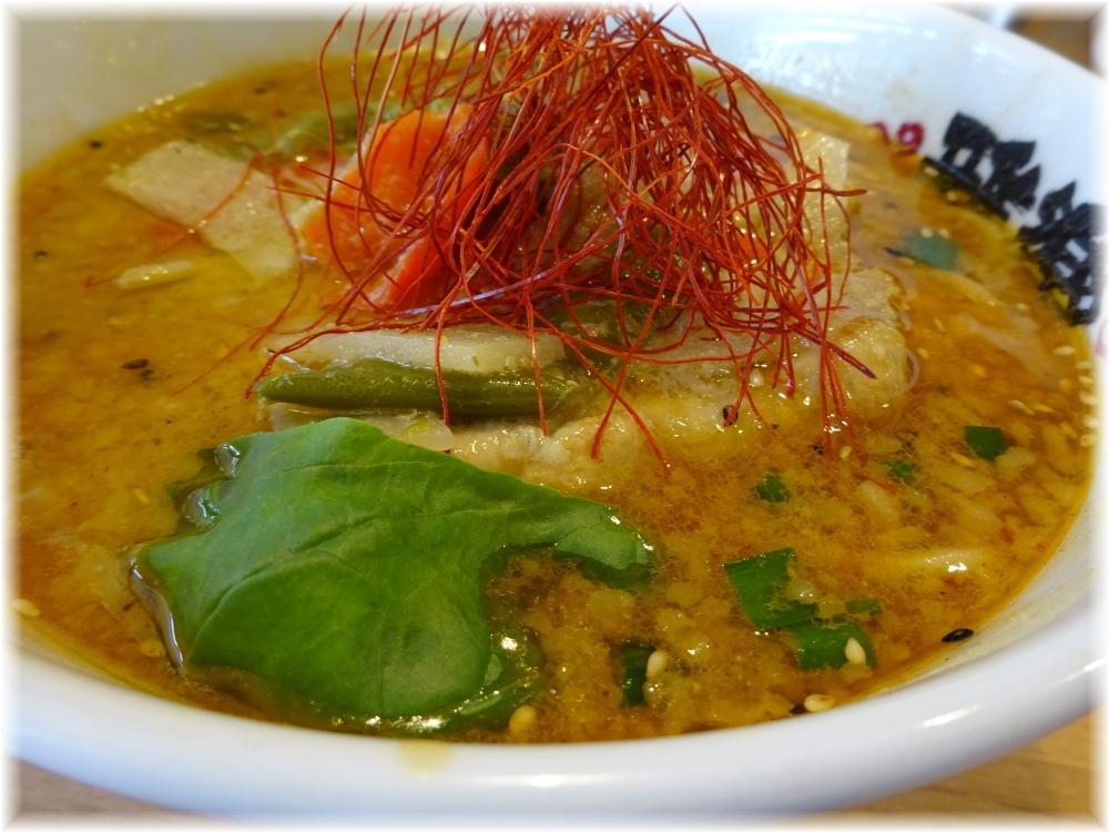 雅楽3 グリーンカレーみそらーめんのスープ