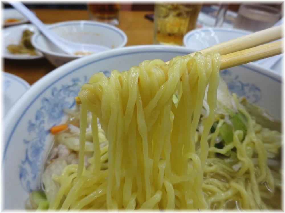 福しん 野菜タンメンの麺