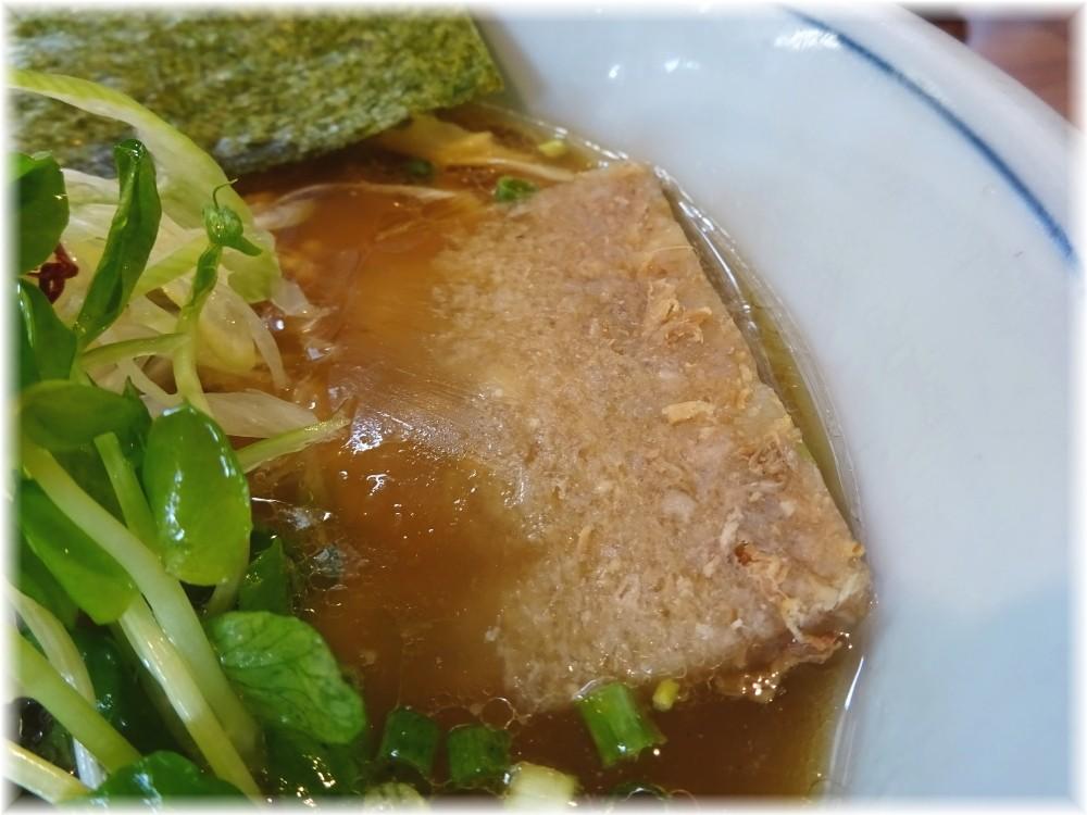 麺家Shumen Doushi 極正油SOBAの煮凝り