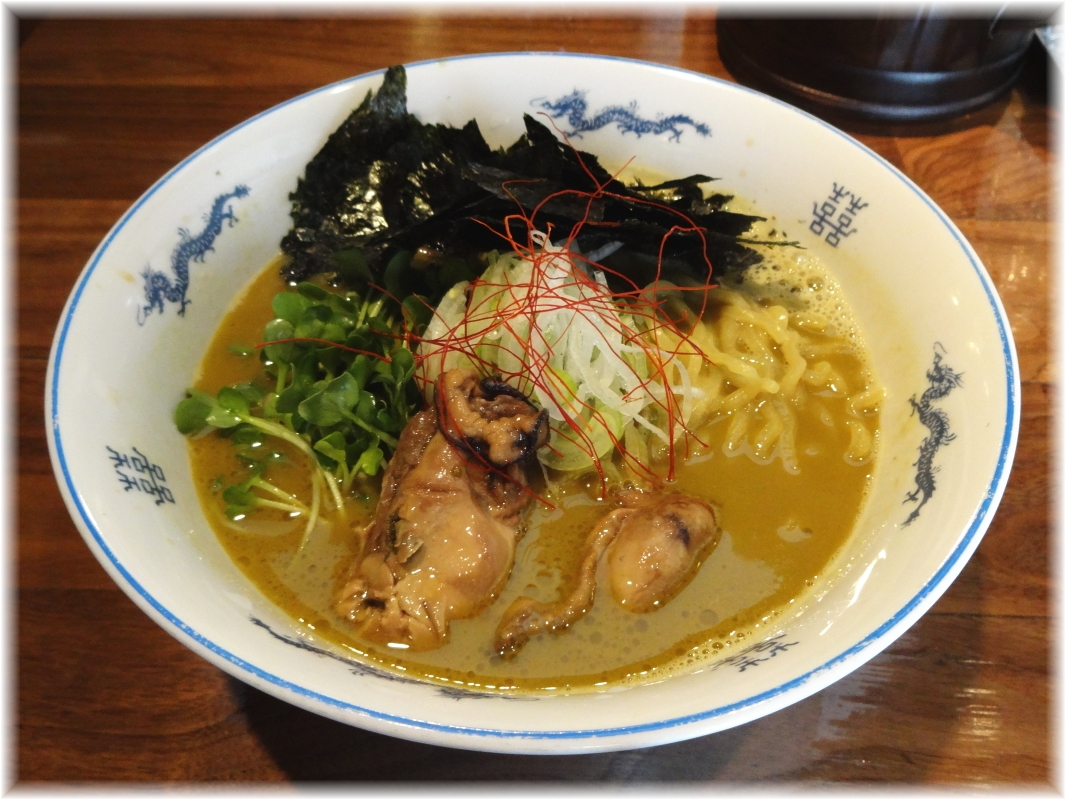 麺や佐市 牡蠣拉麺