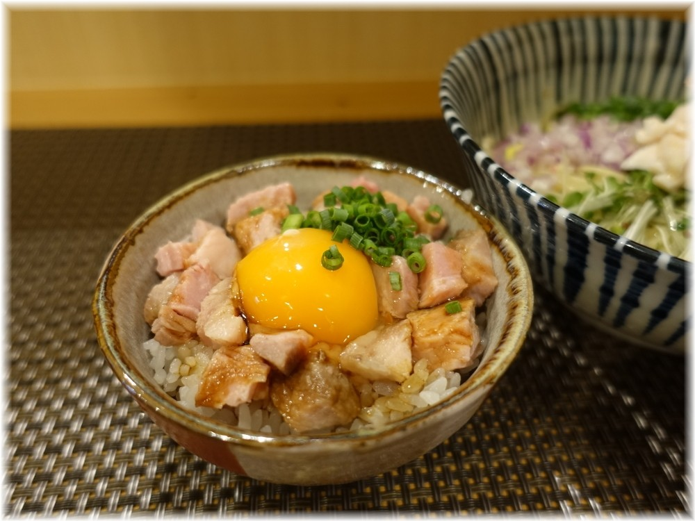 麺処一龍庵 ミニチャーシュー丼
