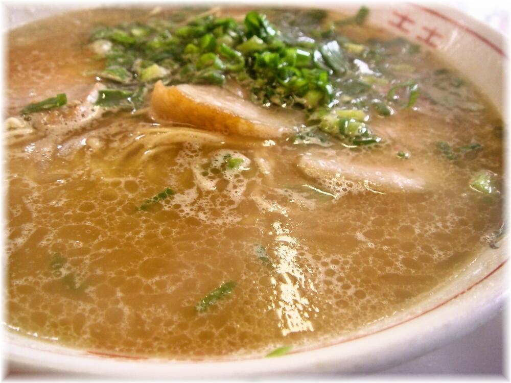 天龍ラーメン ラーメンのスープ