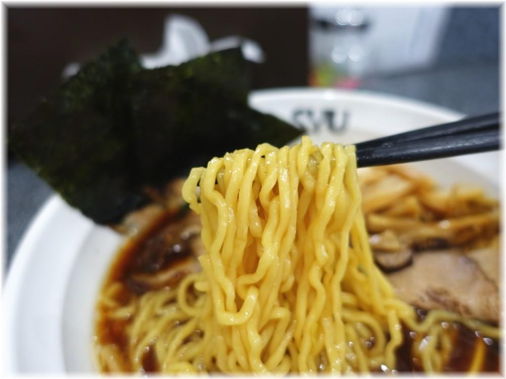 Noodle Studio SYU 周 醤油らーめん全部乗せの麺