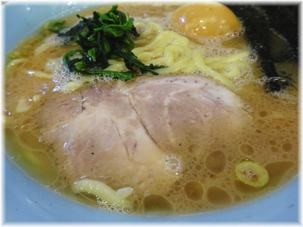 寿々喜家曙町店 ラーメン並+味玉の具