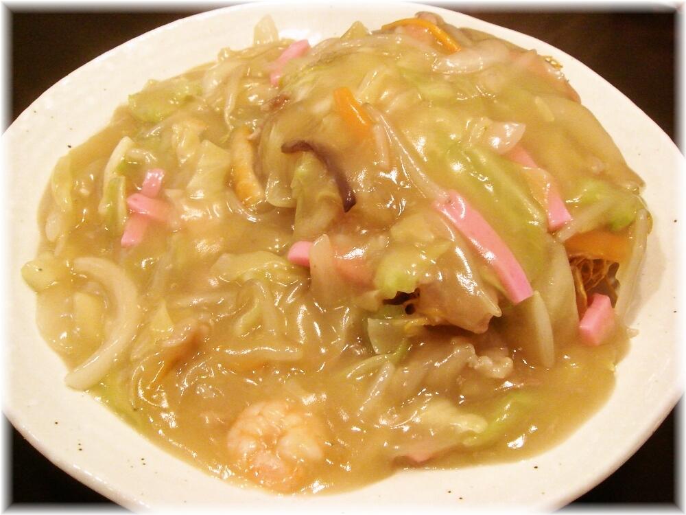 東園 あんかけ(パリ麺)