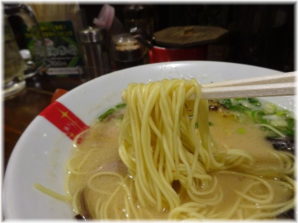 ラーメン凪渋谷店 凪とんの麺