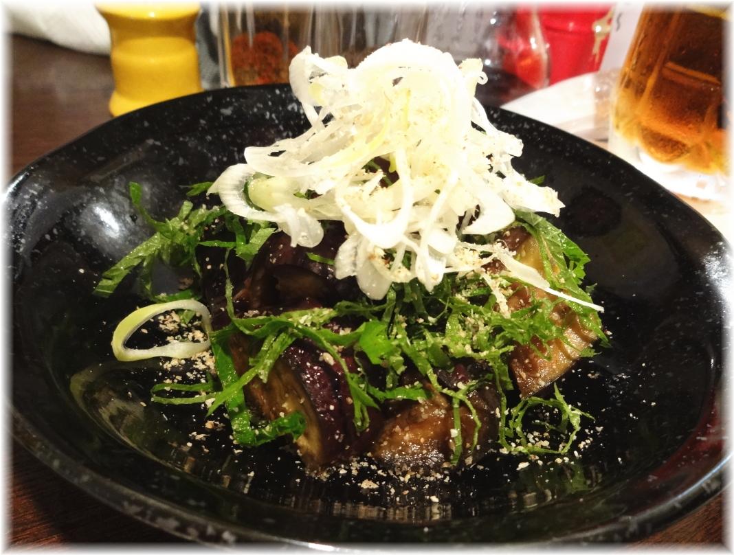 金町製麺3 冷たい中華風蒸し茄子