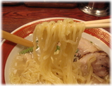 本丸亭 本丸塩らー麺の麺