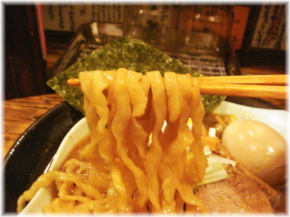 G凪 特製煮干しラーメンの麺