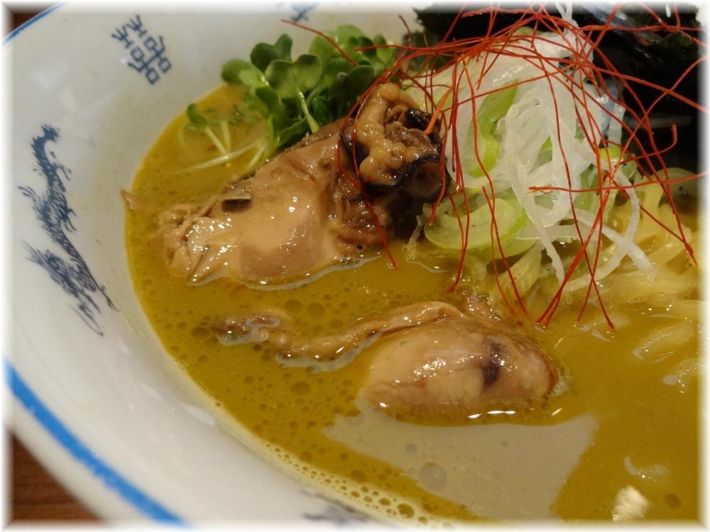 麺や佐市 牡蠣拉麺の具