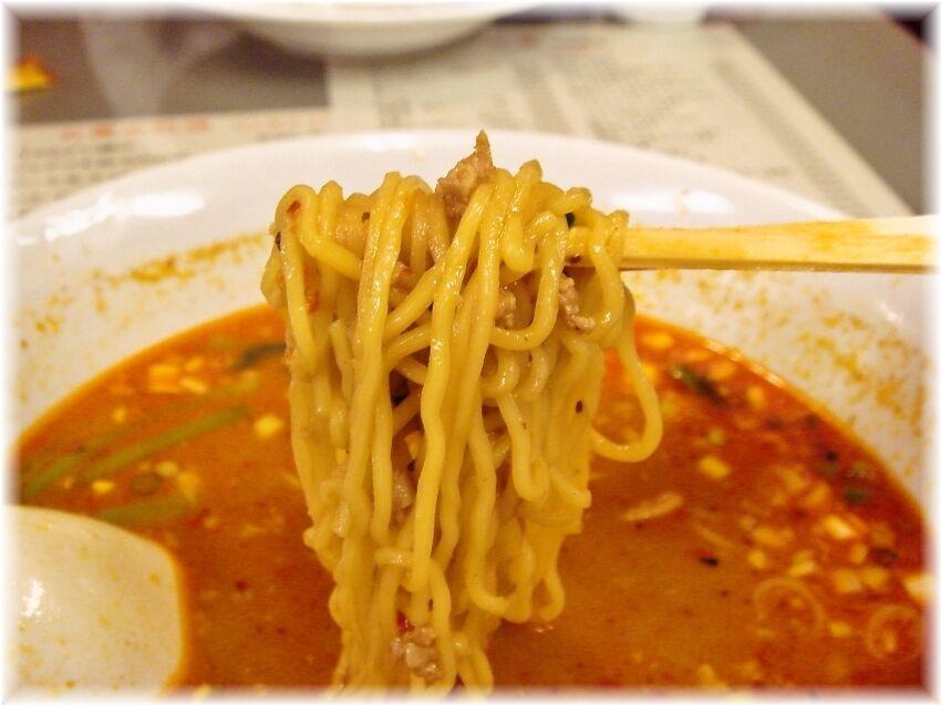 天華 担々麺の麺