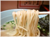 博多ばってんラーメン ラーメンの麺