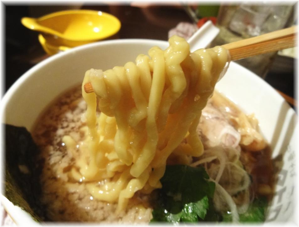 串あげ ムタヒロ4号店 ワハハ煮干そば(出前)の麺