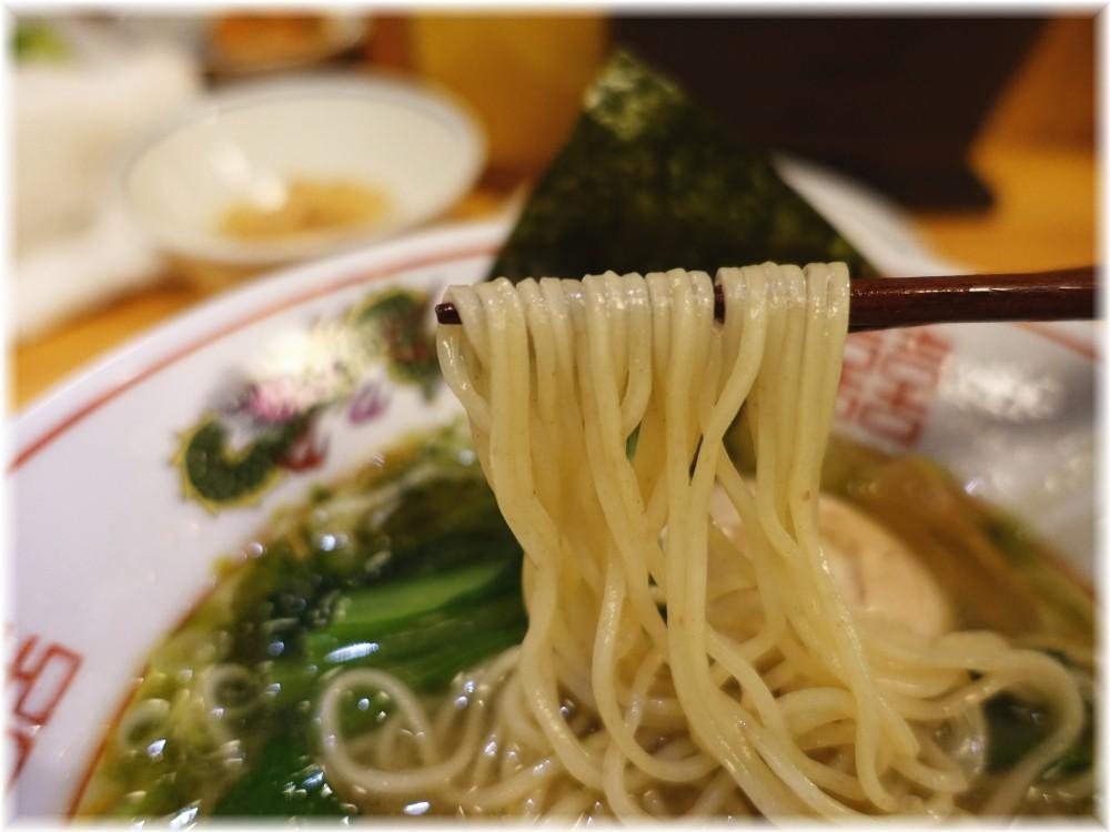 宮屋 特製鶏中華そばの麺