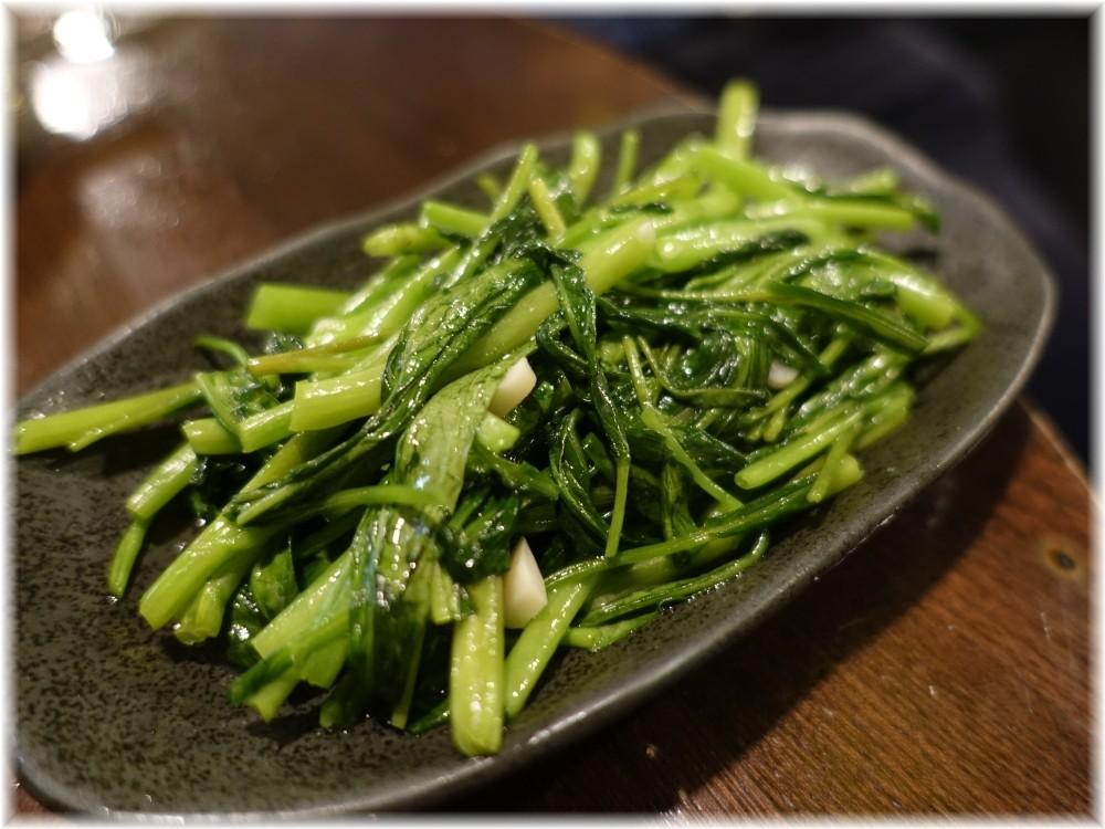 金町製麺8 青菜炒め