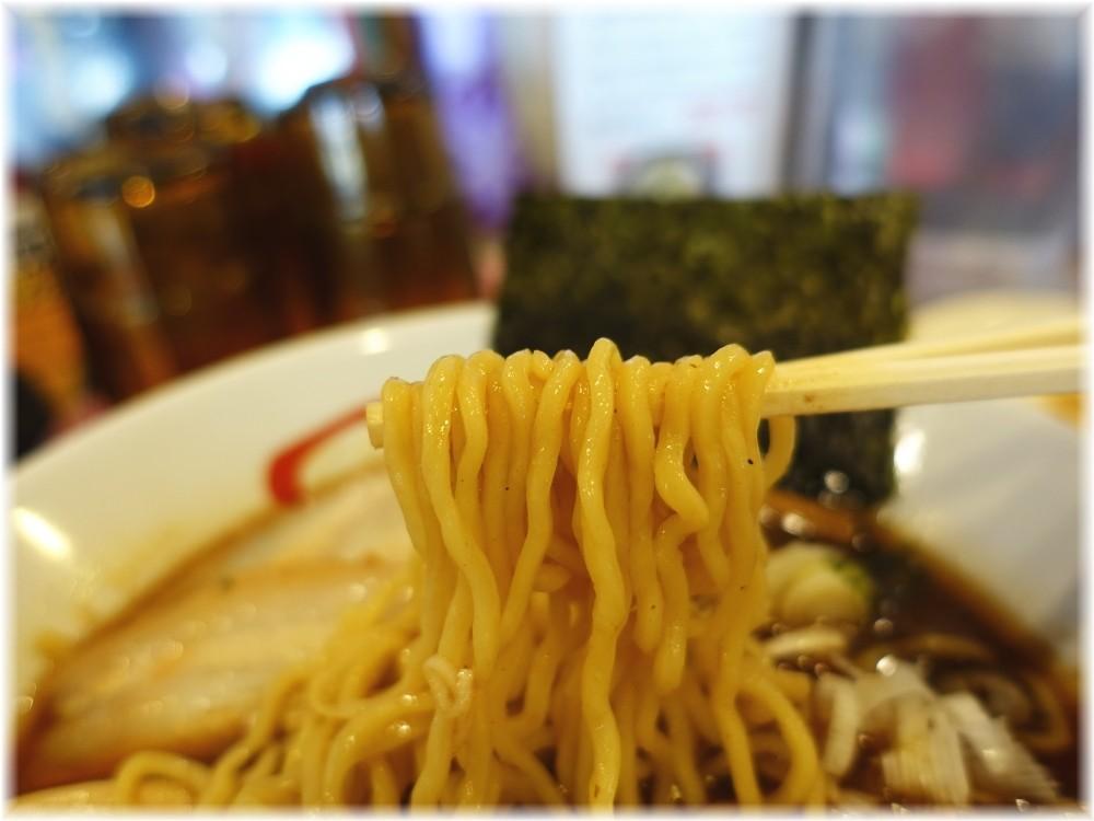 きたもと屋 中華そば味玉の麺