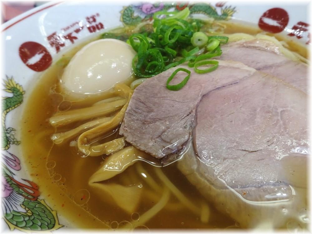 天下一品田町店3 半熟玉子ラーメン(あっさり)の具