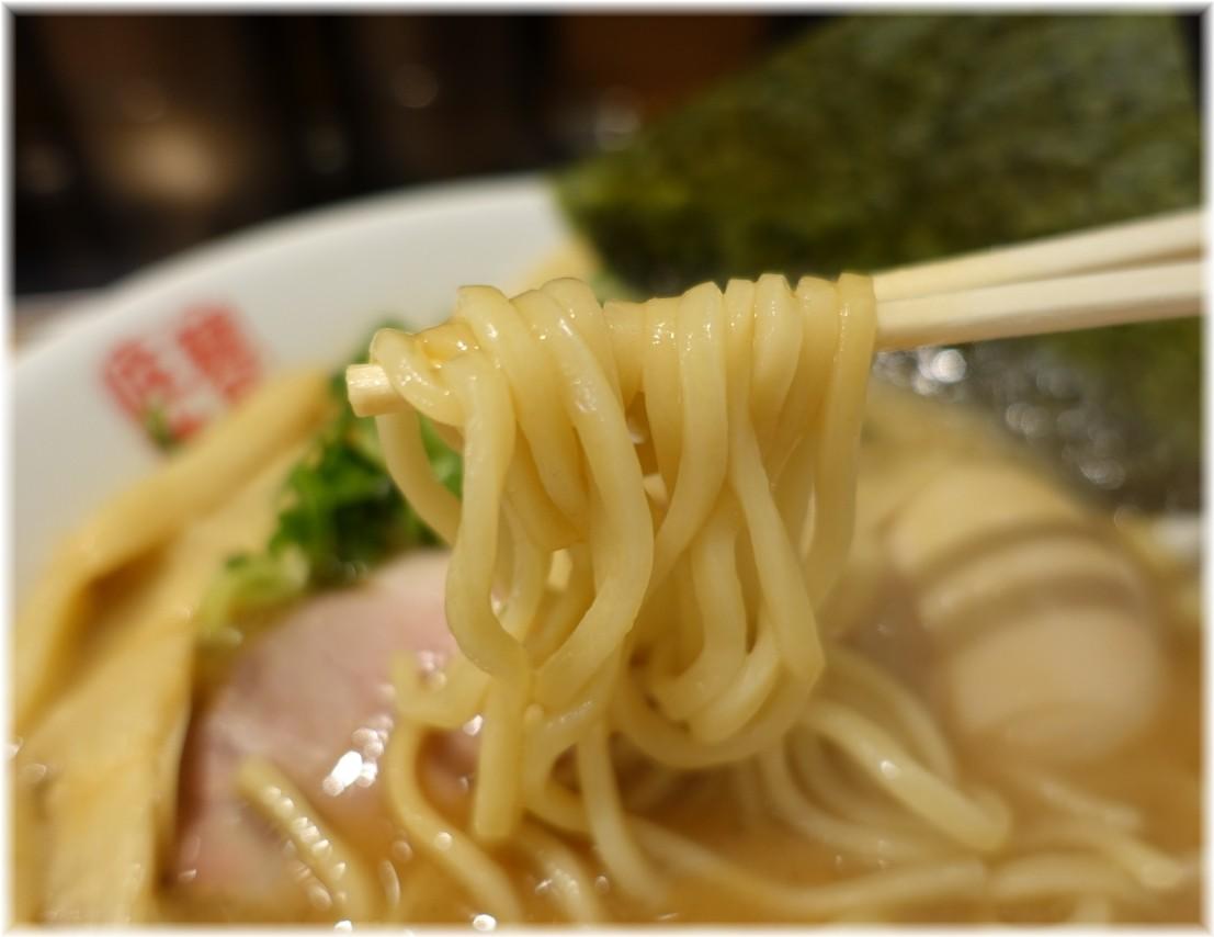 麺屋庄太赤坂店 らぁ麺(並)と煮玉子の麺
