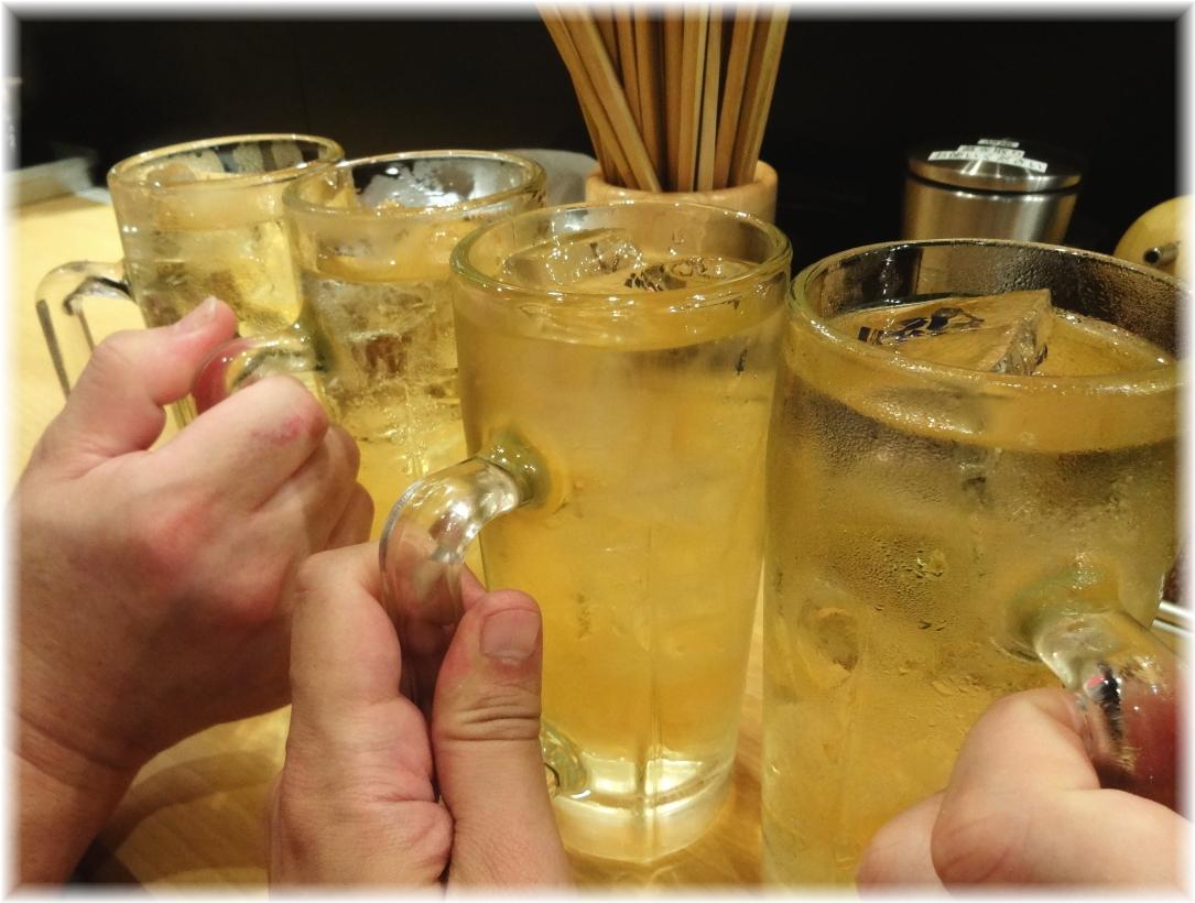ヌードルバー凪 乾杯!