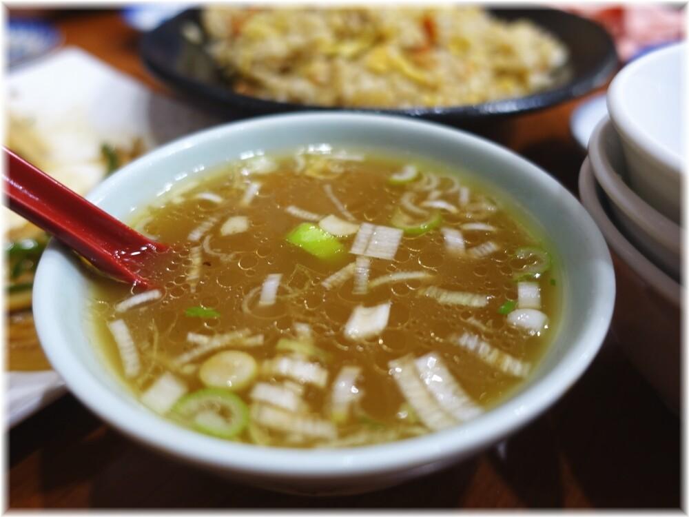 中華料理十八番 チャーハンの付属スープ