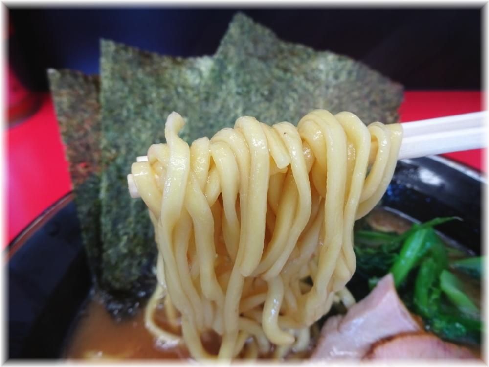 田上家 ラーメン(並)の麺