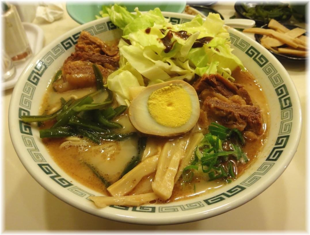 桂花新宿末広店 太肉麺