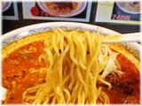 香氣 烈炎担担麺の麺