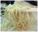 ハッスルラーメン ホンマ 塩ラーメン(小)の細麺