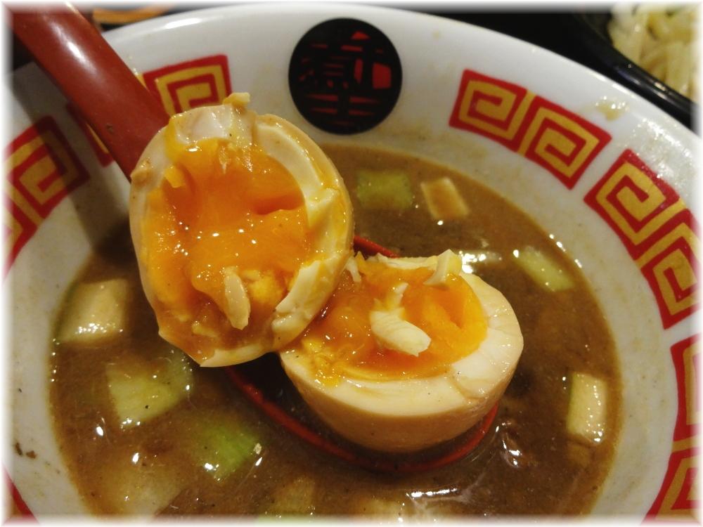 ラーメン凪煮干王西新宿店 特製つけ麺の味玉