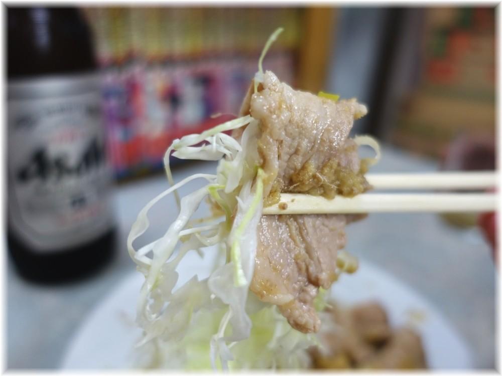 伊勢屋食堂 豚バラ生姜焼き2