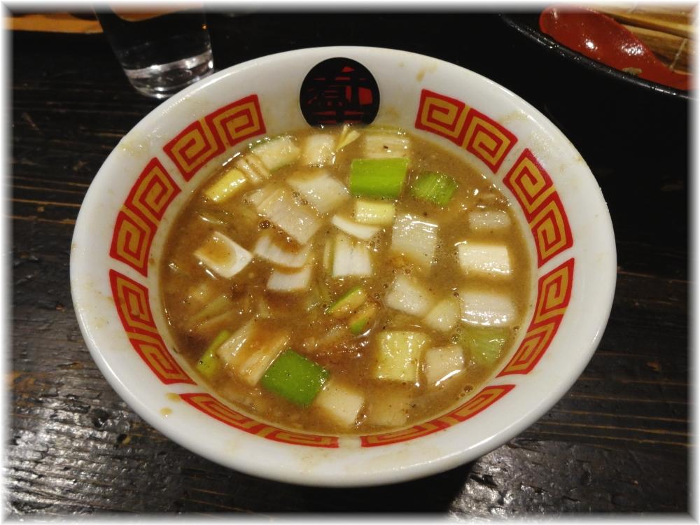 ラーメン凪煮干王西新宿店 特製つけ麺のスープ割