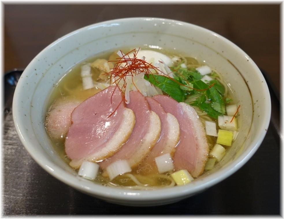 麺屋葵 鴨出汁・白(特製トッピング)