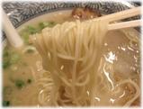 久留米らーめん金丸 ラーメンの麺
