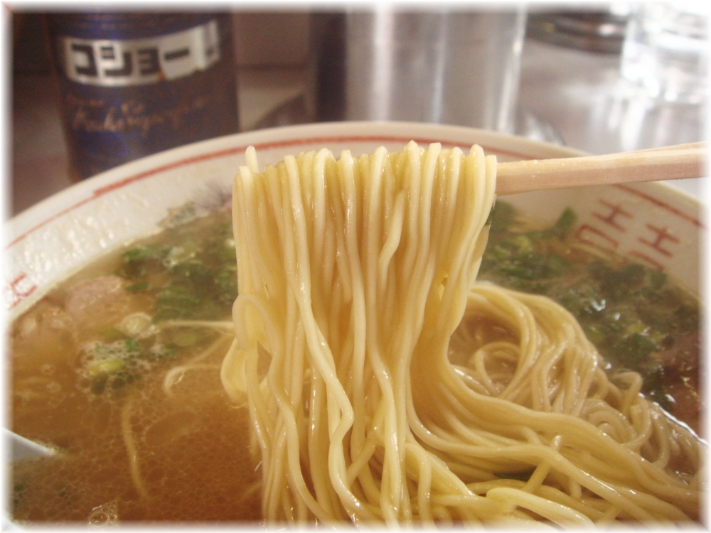 天龍ラーメン ラーメンの麺