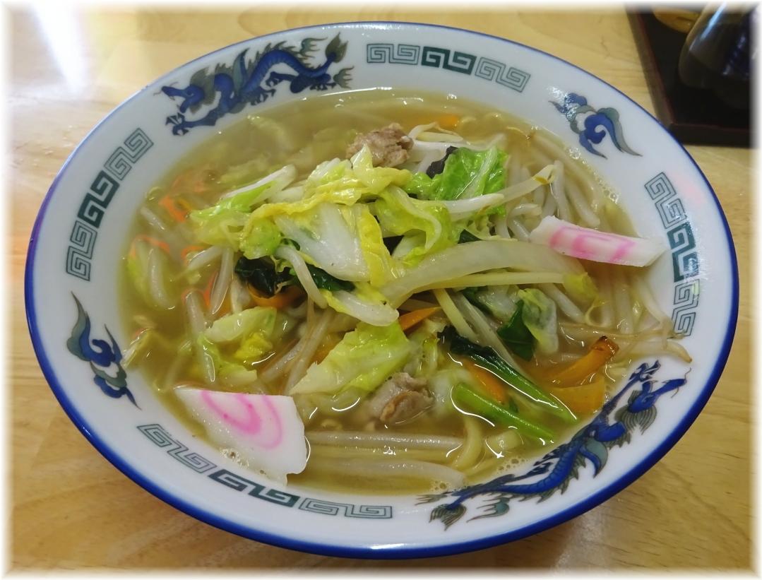 青龍 横須賀タンメン