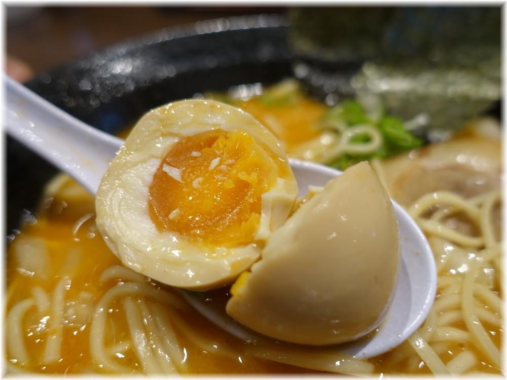麺屋一禾2 濃厚辛味噌そば(味玉付)の味玉