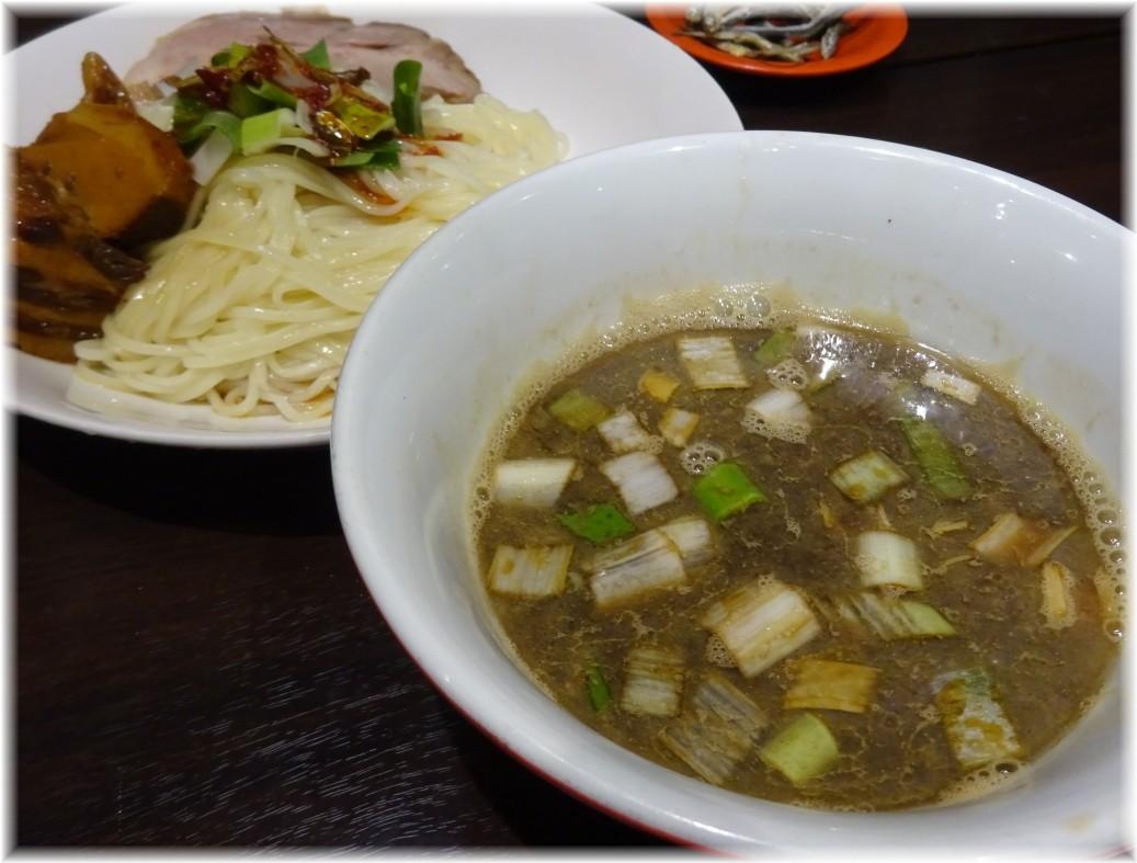 魚露温麺凪 角煮魚露つけ温麺