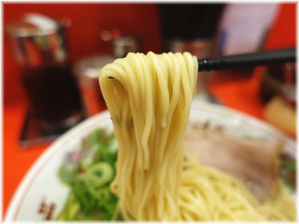 天下一品田町店6 ねぎラーメンの麺