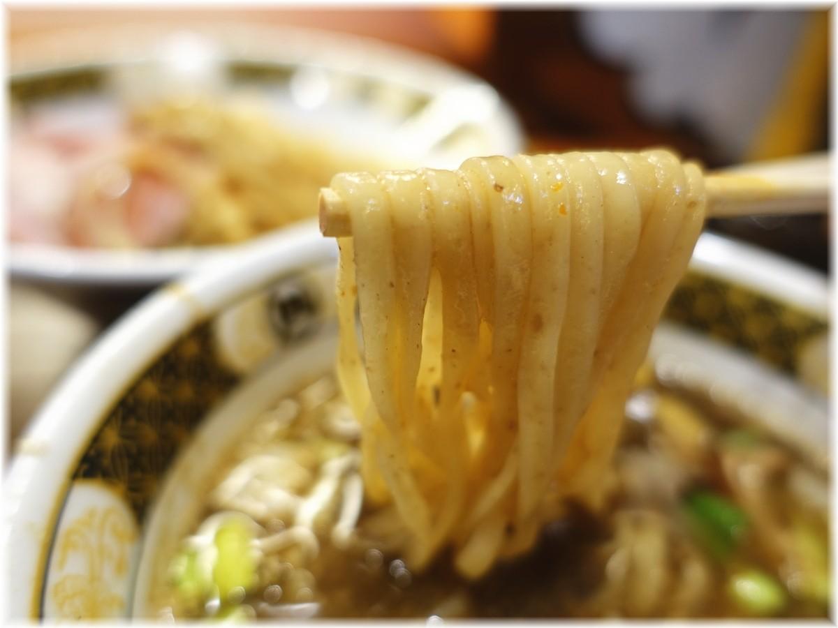 ラーメン凪大宮店3 すごい煮干つけ麺の麺2