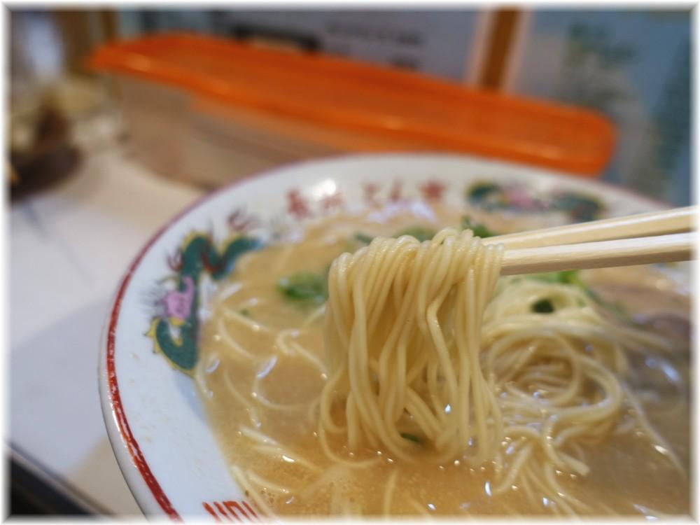 長浜とん吉二代目 ラーメンの麺