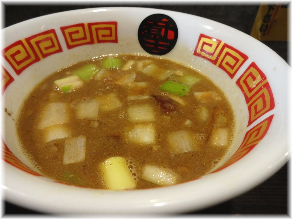 ラーメン凪煮干王西新宿店 特製つけ麺のつけ汁