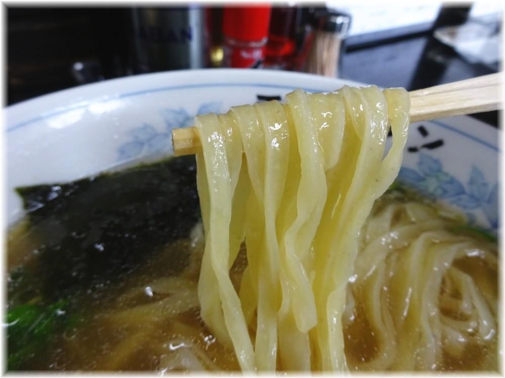 一力 ラーメンの麺