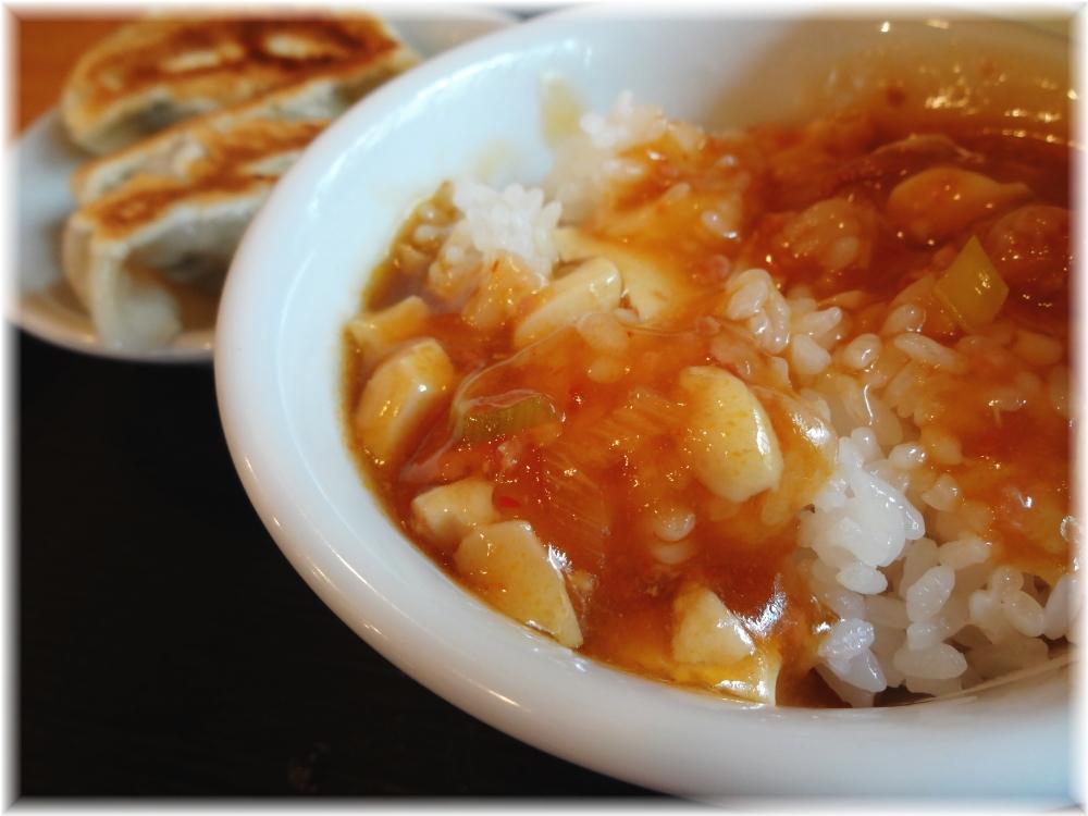 ちょろり ランチ定食Bの麻婆豆腐