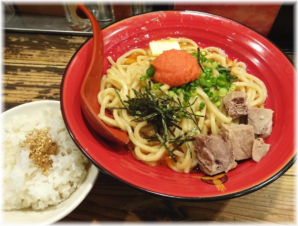 三田製麺所4 ぶっかけ明太子