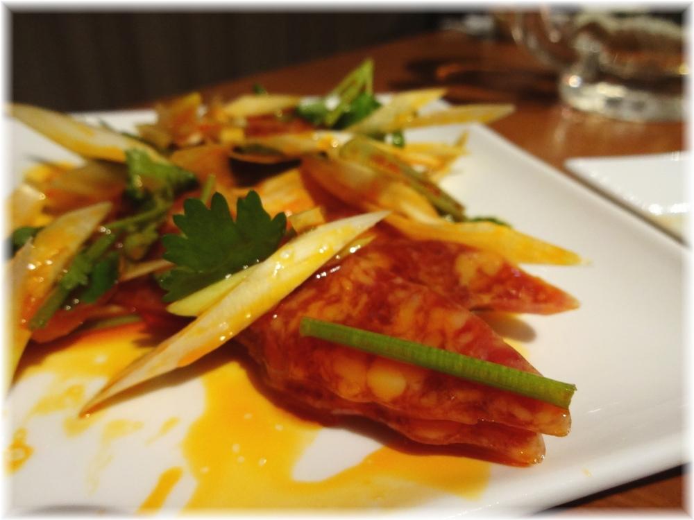 百菜百味 腸詰のピリ辛