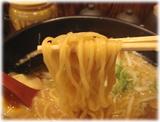 めんや悠 東京豚骨らーめんの麺