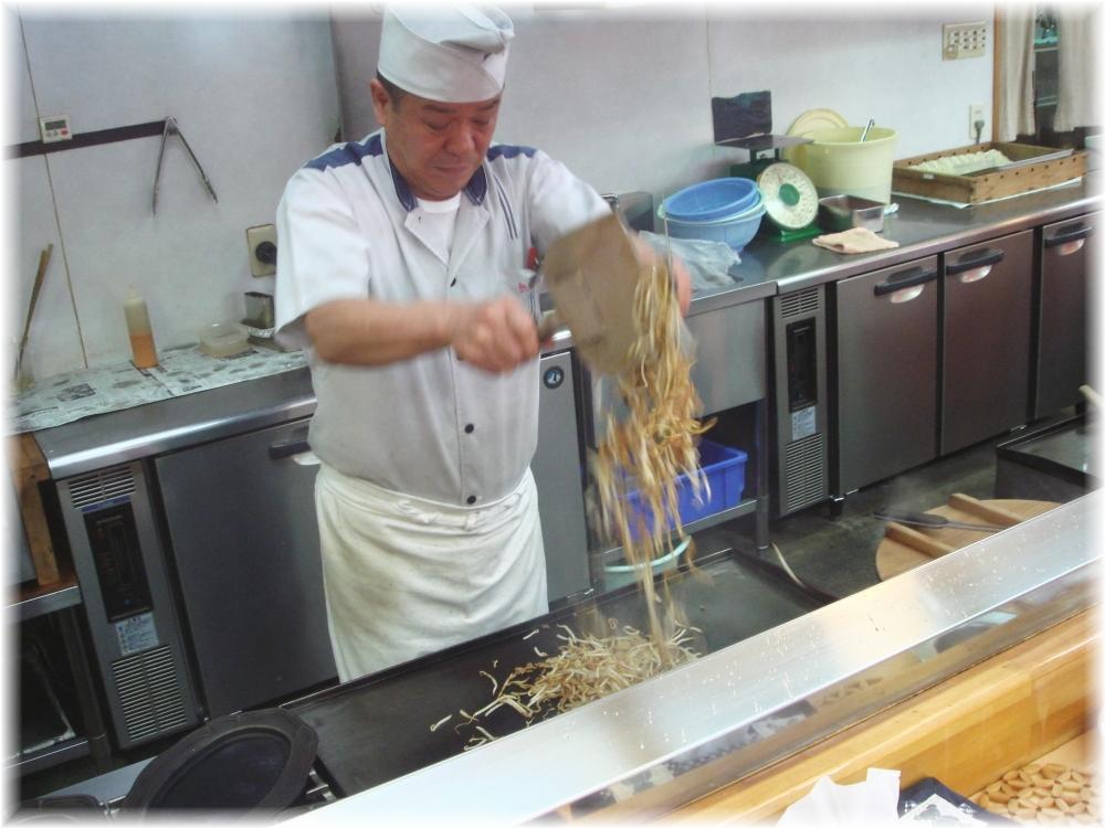 想夫恋 大将の麺さばき