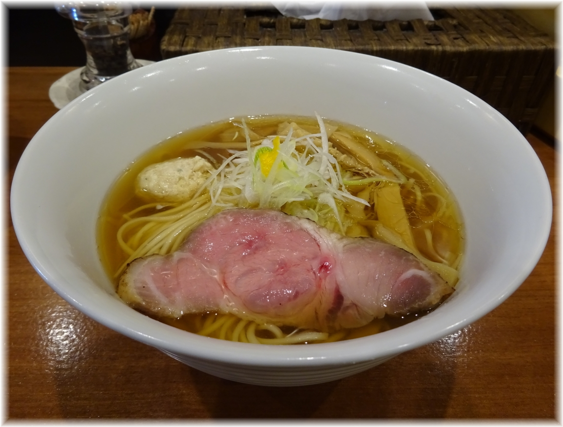 想 魚介×醤油らぁ麺